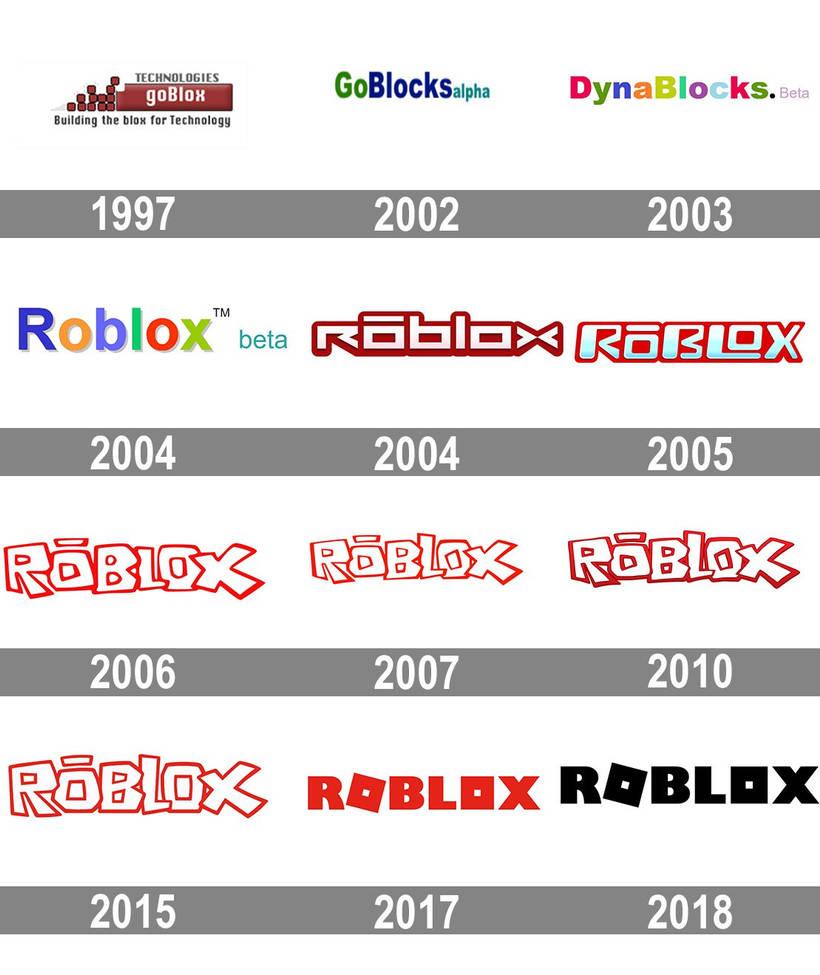 Roblox 2006 2018 Roblox Logo Evolution 1997 2018 By Robloxnoob2006 On Deviantart