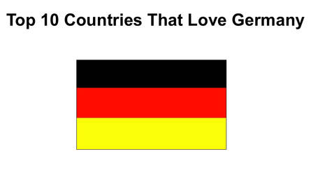 Top 10 Countries That Love Germany