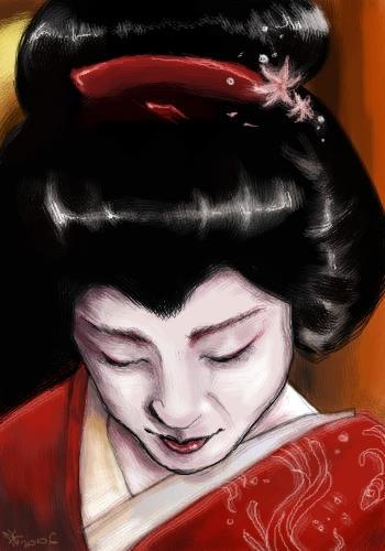 geisha by Renifer