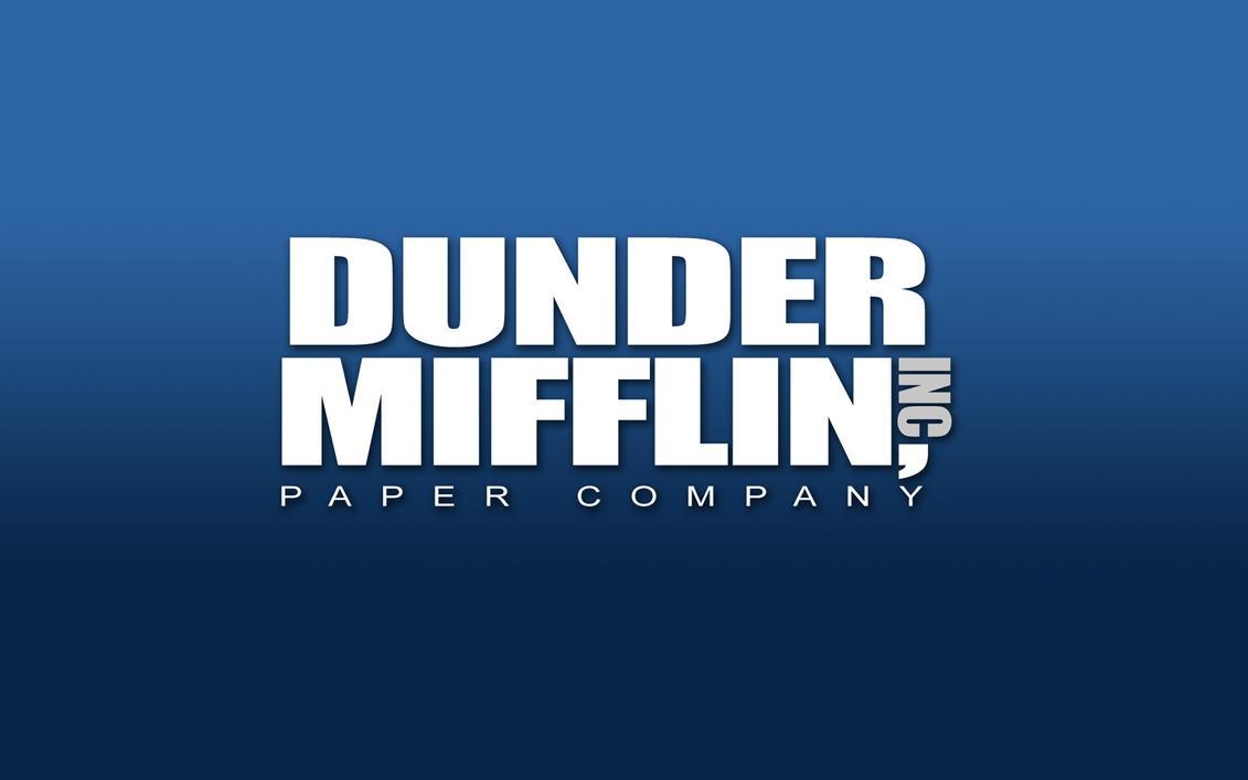Dunder Mifflin Wallpaper By CTU 01