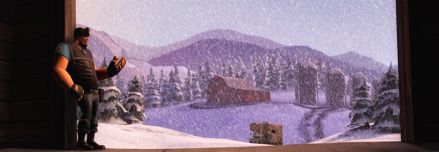 Wonderful winter by MrComrade