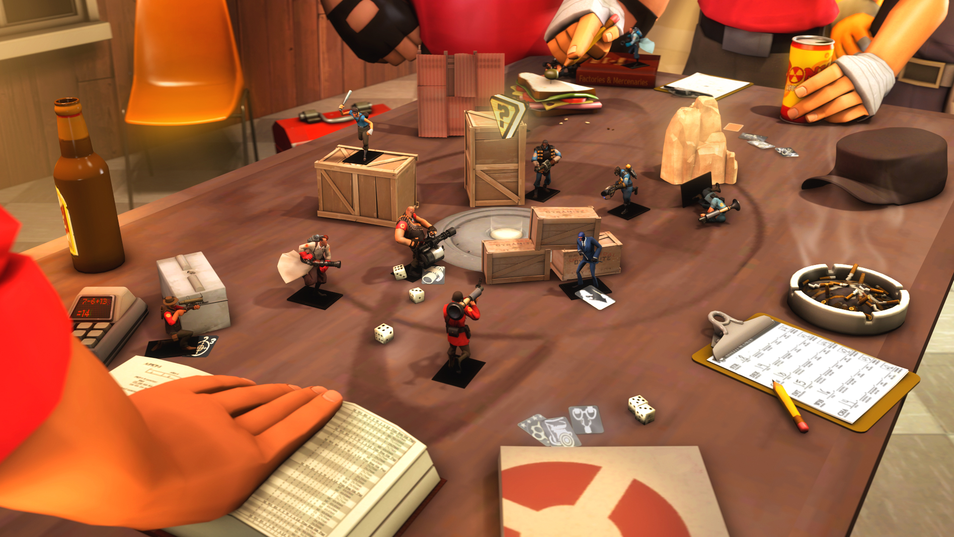 Table War by MrComrade