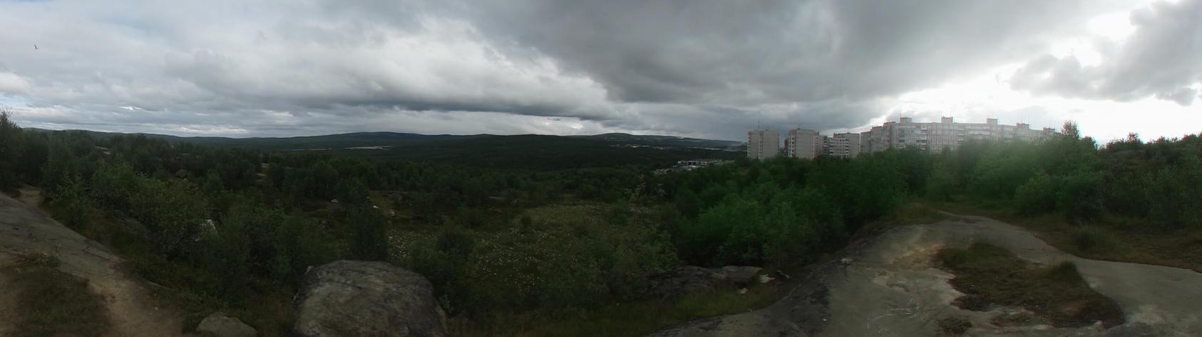 Murmansk, Sosnoviy Proezd by MrComrade
