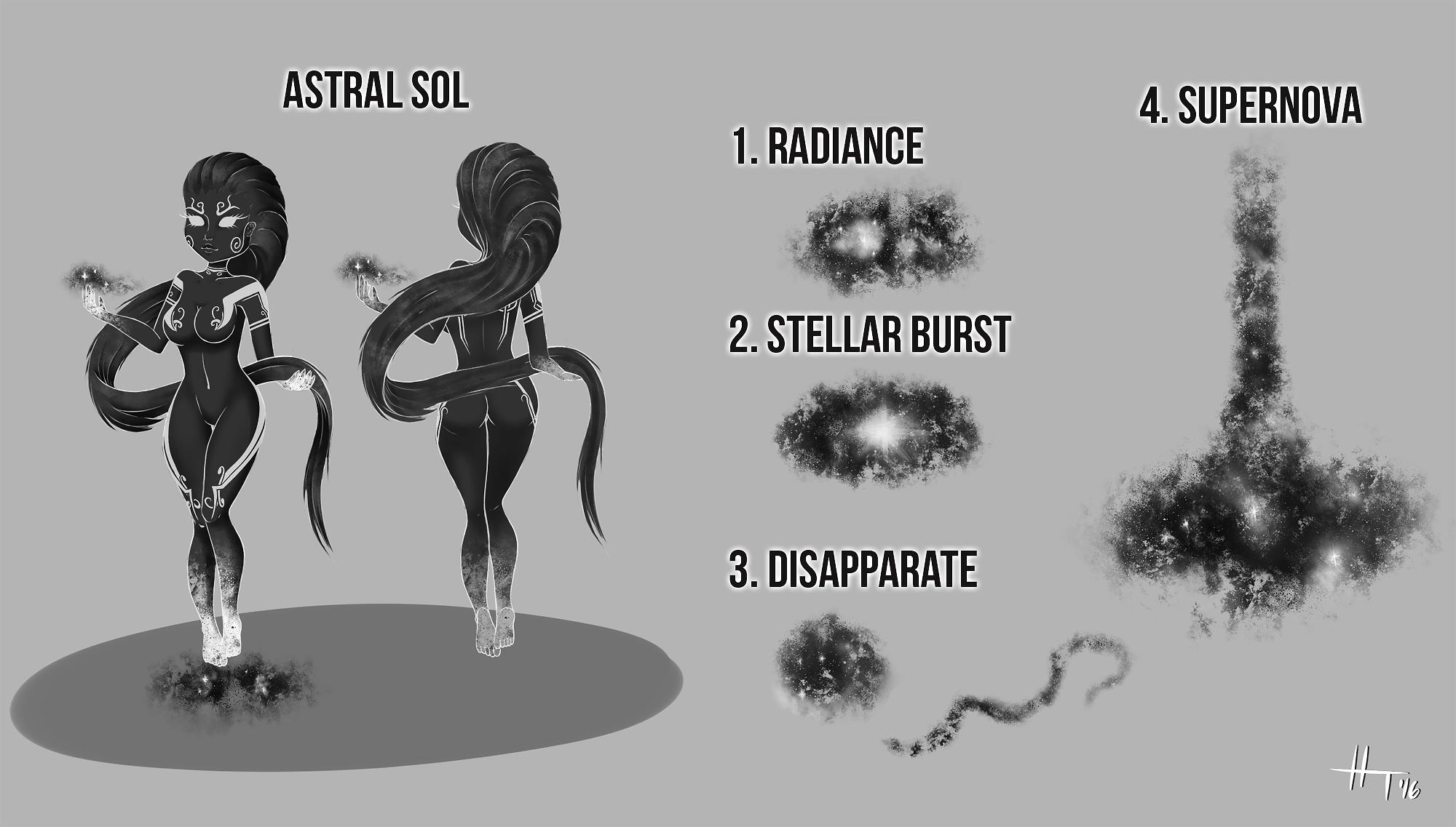 Astral Sol skin concept by verydeepshit on DeviantArt