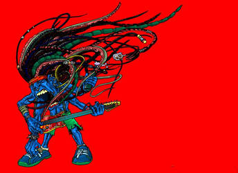 roaring guitarage by Stato-beesknee