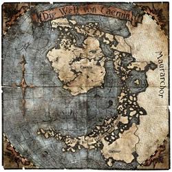 Worldmap of Caeruin 4
