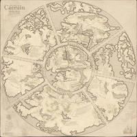 Worldmap of Caeruin 5