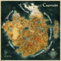 Worldmap of Caeruin 6