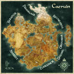 Worldmap of Caeruin 6