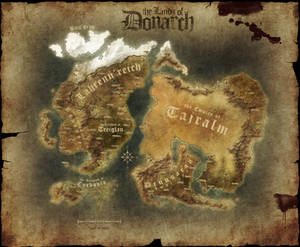 Map of Donarch