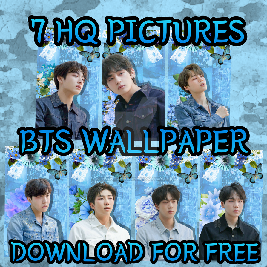 Bts Wallpaper Pack Download Link In Description By
