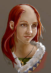 My Pen and Paper Character by jeanettevollmer