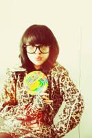 leopard's lollypop by aihtuya