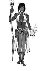 black witch by Etory