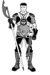 Warrior by Etory
