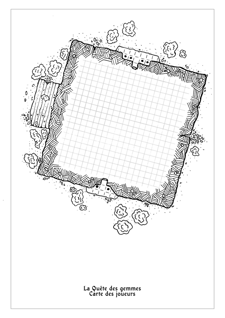 Player map for Tabletop RPG by Etory