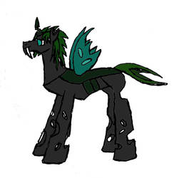 Sketchs' Changeling form by shocksound