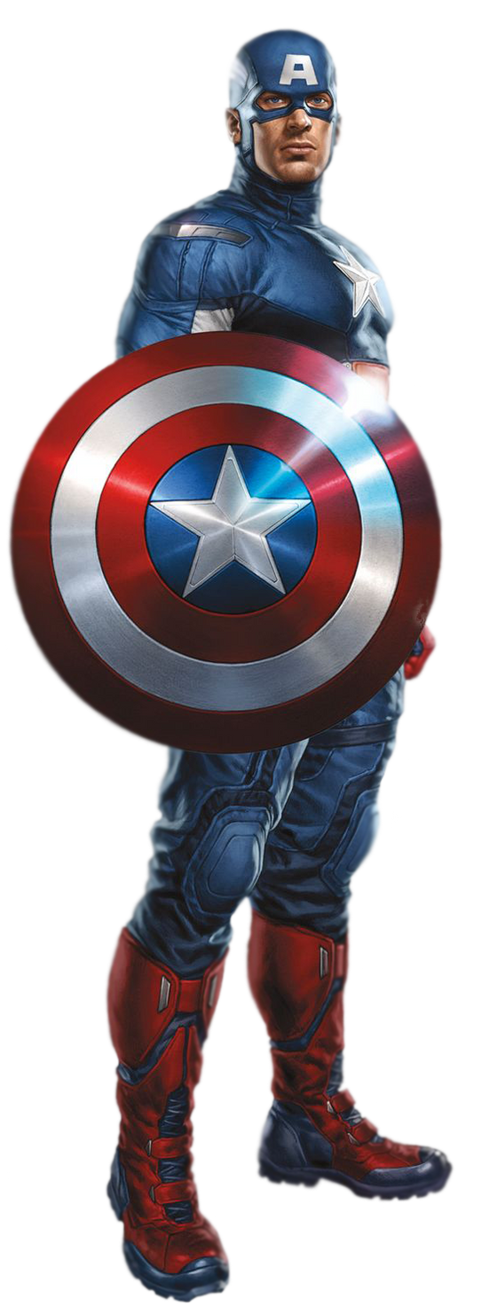 Captain America PNG by CaptainJackHarkness on DeviantArt