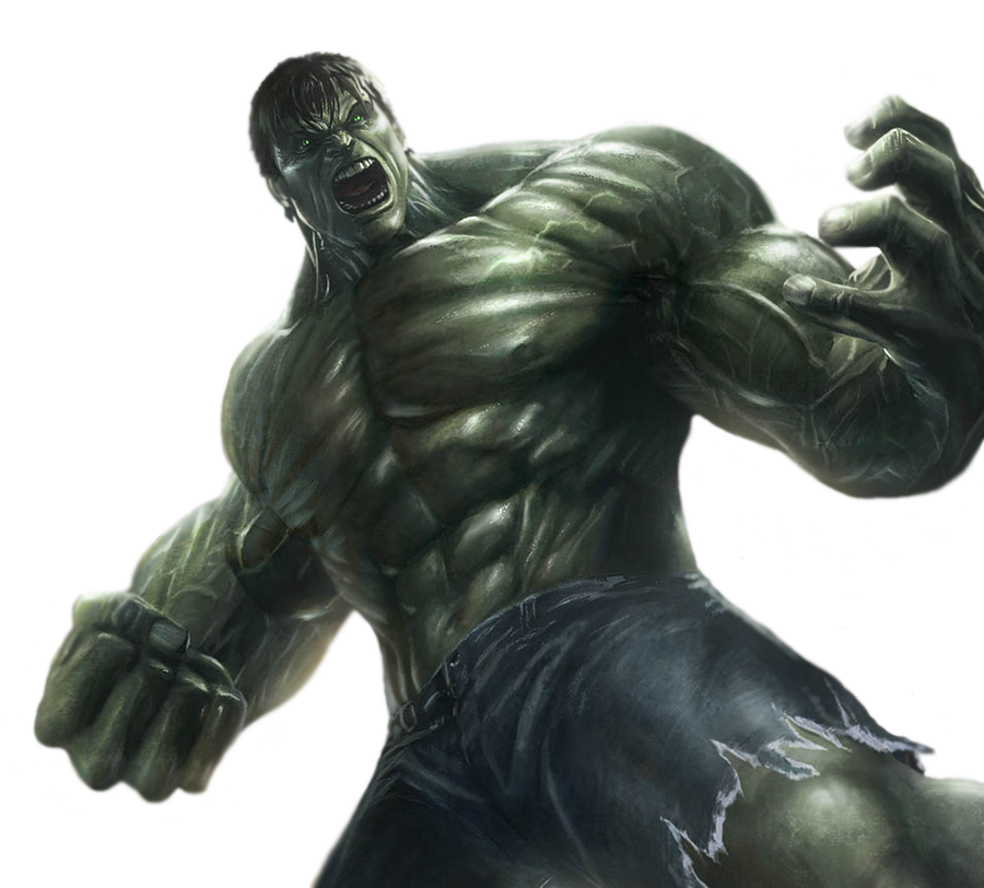 Incredible Hulk PNG by CaptainJackHarkness on DeviantArt