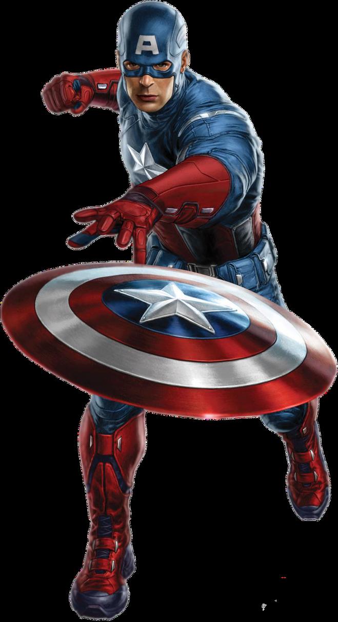 Captain America PNG by CaptainJackHarkness on DeviantArt