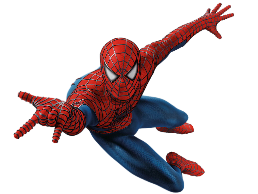 3d spider man transparent - photo #11