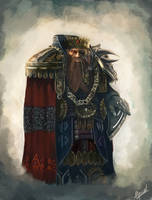 dwarf king art by Tygodym