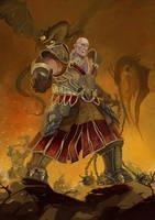 dragon warrior by Tygodym
