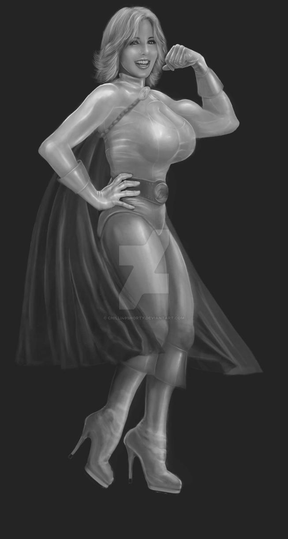 Power Girl V2 Draft by chilli49shorty