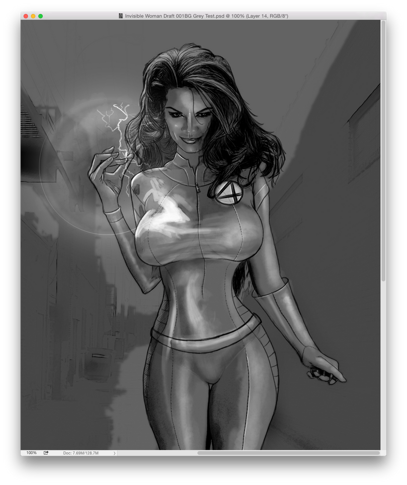 Invisible Woman - Susan Storm draft by chilli49shorty