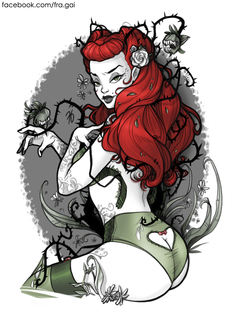 dc bombshells poison ivy by fra gai on deviantart rh deviantart com DC Comics Poison Ivy Poison Ivy Drawing
