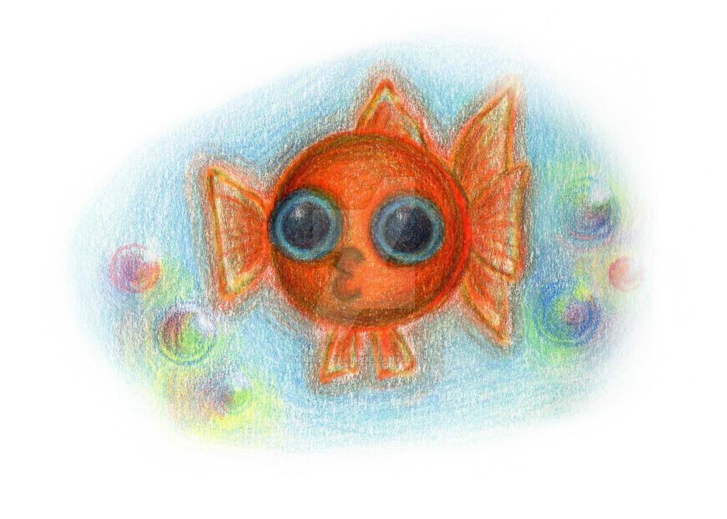 Bloup bloup gold fish the origineyaris-ookami on deviantart