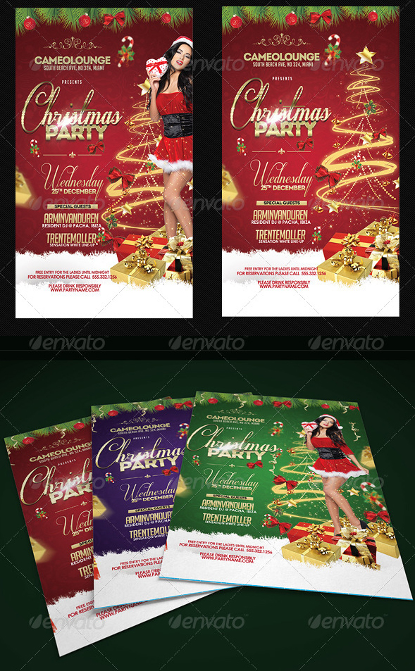 Christmas Flyer Template Psd Download By Audioneptune On Deviantart