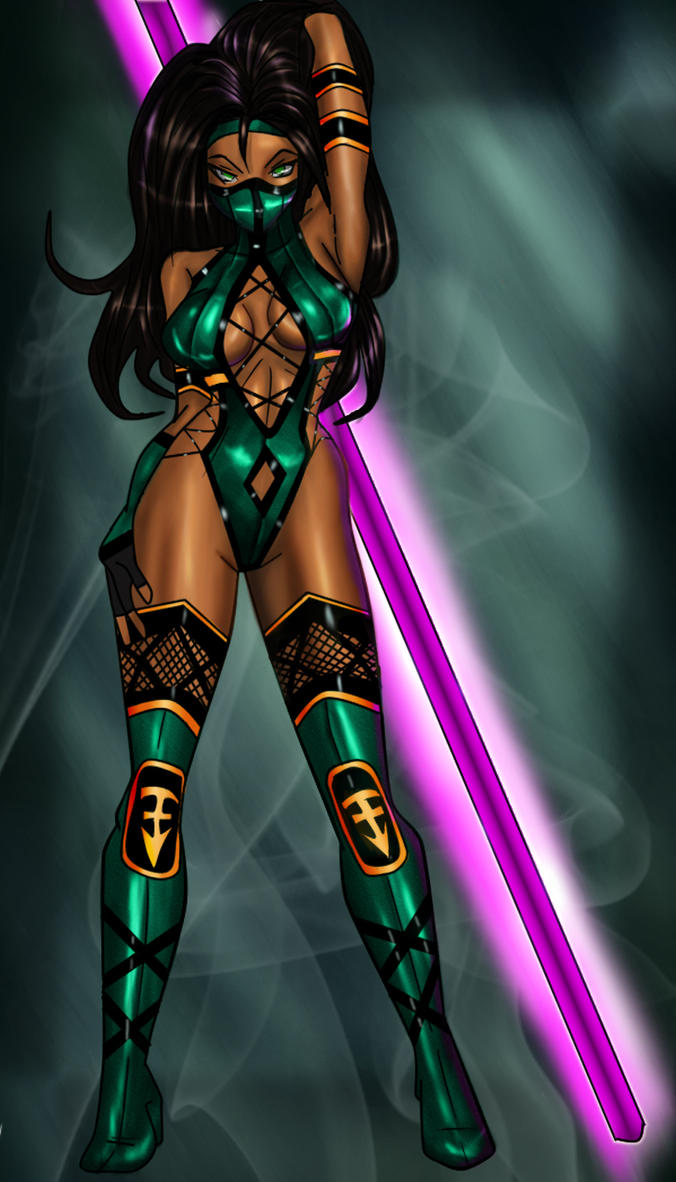 Pics of jade in mortal kombat 9  cartoon images