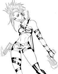 Bullet Shiru by ElecoMoroco