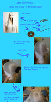 How to style a braided Bun by Syjana