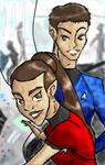 Spockura babies by BlackInkHeart