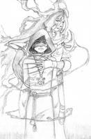 protecting demon by Garcinda