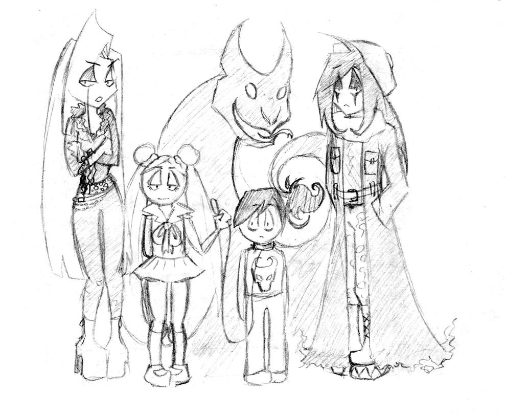 a very nice and normal family by Garcinda