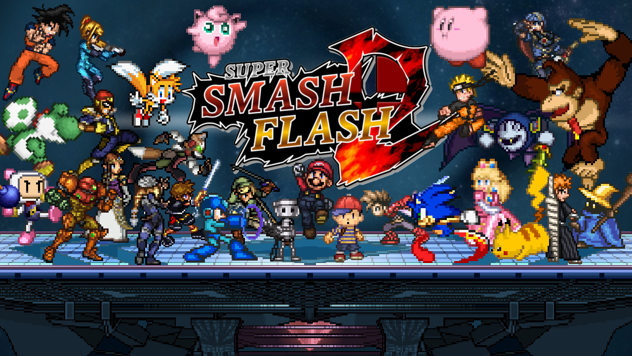 super flash smash bros