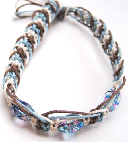 How To Make Hemp Necklaces: Funky Bead Hemp Bracelet By Phathemp On DeviantArt