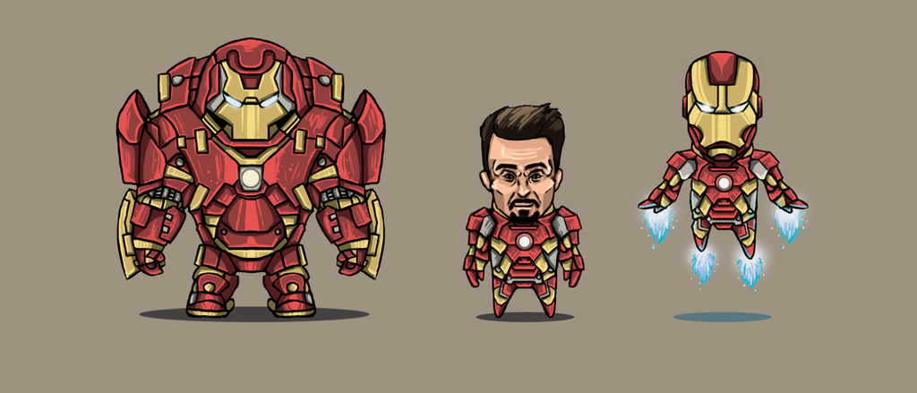 iron man - 2d fan artleoshark on deviantart