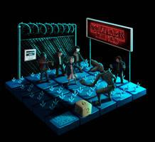 Stranger Things - Fan art by leoshark