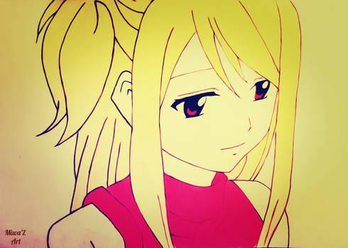 Lucy Heartfilia  {2nd Version} (Miwa'Z Art)