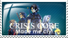 FF7: Crisis Core stamp by capitaljay