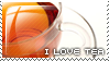 I love tea stamp by capitaljay
