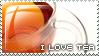 I love tea stamp by capitaljay