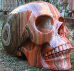 Eastern Jasper Skull 001d