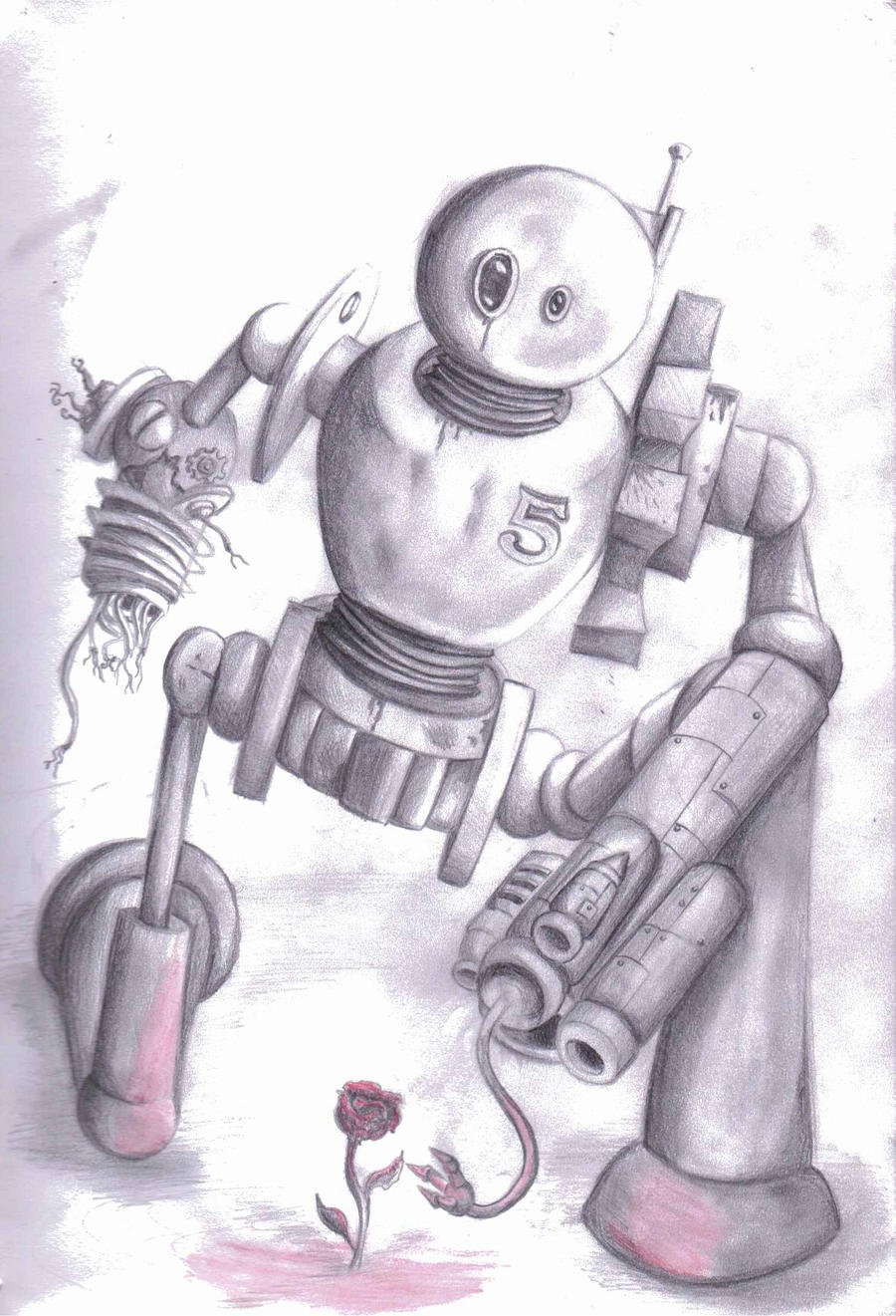 The Robot and the Rose by ellib33