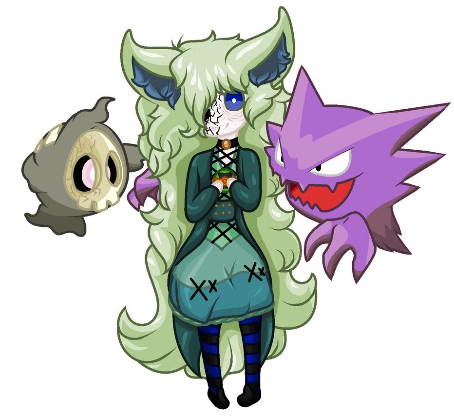 Esra pokemon by LockedCheckeredHeart