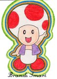 Nintendo Mario Brothers Toad by Enlightenup23